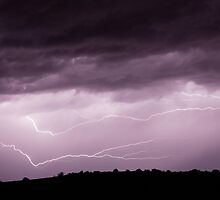 Lightning Across the Sky by William C. Gladish