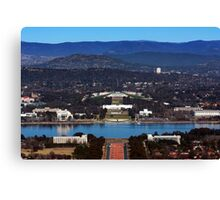 View from Mt Ainslie Canvas Print