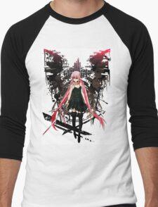 Gasai Yuno Anime Future Desolation Anime T-shirt Men's Baseball ¾ T-Shirt