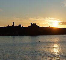 Castle Silhouette by youmeus