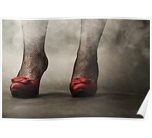 red shoes I Poster