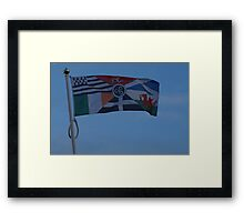 Pan Celtic Flag Framed Print