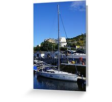 Sailing for Disabled IOM Greeting Card