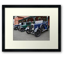Vintage Transport  Framed Print
