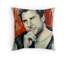 James Roday Throw Pillow