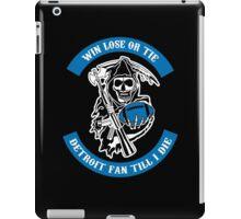 Win Lose Or Tie Carolina Fan Till I Die. iPad Case/Skin