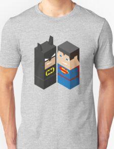 Batman vs Superman - Bat Block Vs Super Block! T-Shirt