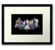 Batbaby Framed Print
