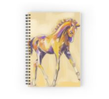 Foal colour and grace Spiral Notebook