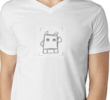 Companion Pet Mens V-Neck T-Shirt