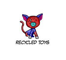 recycled toys Photographic Print