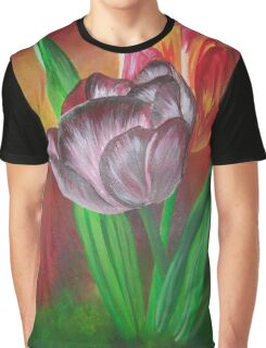 Two Tulips Graphic T-Shirt