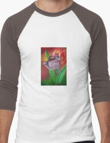 Two Tulips Men's Baseball ¾ T-Shirt