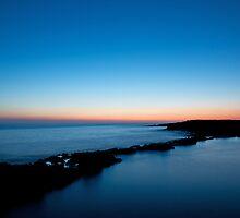 Dawn on Qawra bay - Malta by Alvise Busetto