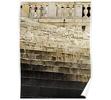 Steps, Sienna cathedral Poster