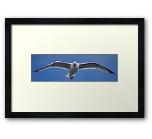 I Can See You.... So Where Are The Chips Then ? Framed Print