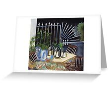After dinner Greeting Card