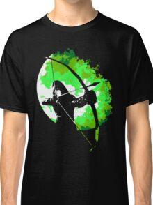 He walks at night... (Green) Classic T-Shirt