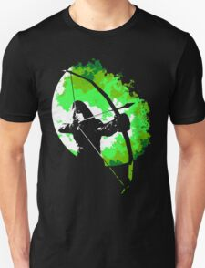 He walks at night... (Green) T-Shirt
