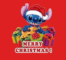 MERRY CHRISTMAS STITCH Unisex T-Shirt