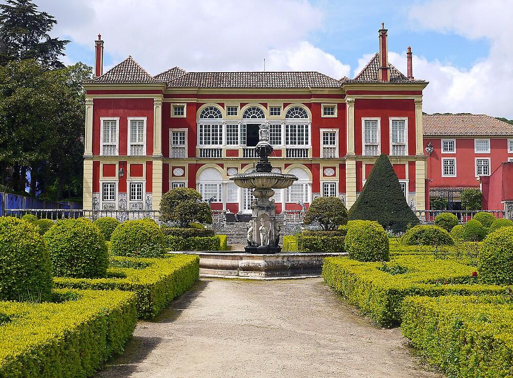 Palacio Fronteira - Lisbon by kkmarais