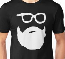 beard & glasses v2 Unisex T-Shirt