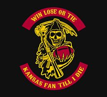 Win Lose Or Tie Kansas Fan Till I Die. Unisex T-Shirt