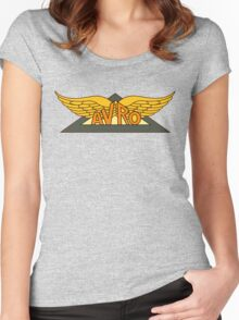 Avro Aircraft Company Logo Women's Fitted Scoop T-Shirt