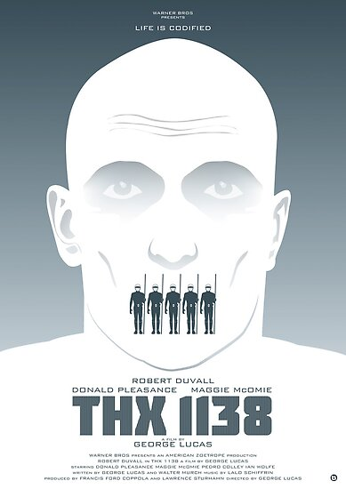 George Lucas' THX 1138 by AlainB68