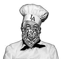 Chef Boyardee Bandana LA Photographic Print