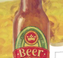 50s Premium Beer Pure Malt  Sticker