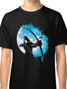 He walks at night... (Blue) Classic T-Shirt