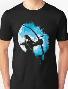 He walks at night... (Blue) T-Shirt