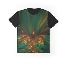 Aurora fractalis Graphic T-Shirt