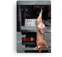 Easy Meat (3) Canvas Print