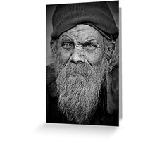 A Wise Man on the Street Greeting Card