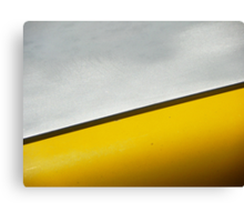 Yellow with a Chance of Rain Canvas Print