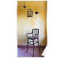 Kitchen chair Poster