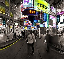 A Night in Mongkok by HKart