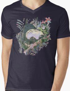 The Big Friend Mens V-Neck T-Shirt