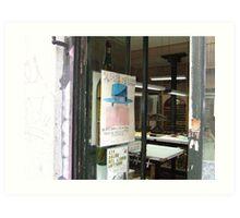 Libro de la impresora, Madrid Art Print