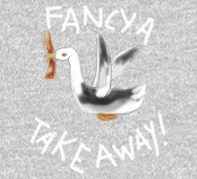 FANCY A TAKE AWAY    TEE/KIDS TEE/BABY GROW One Piece - Long Sleeve