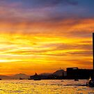 Sunset in Hong Kong by kawing921