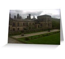 Ilam Hall, YHA, England. Greeting Card