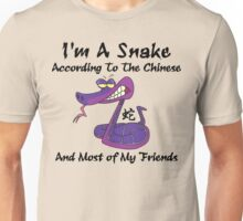 Very Funny Year of The Snake T-Shirt Unisex T-Shirt