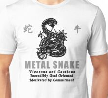 Chinese Year of The Snake 1941 2001 T-Shirt Unisex T-Shirt