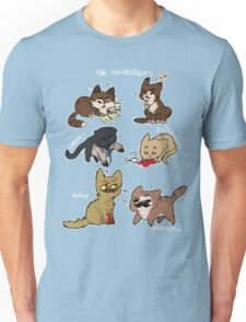 the winchestpurrs and their angels Unisex T-Shirt