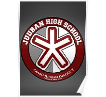 Juuban High School Logo Poster