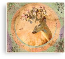 Melody of Spring - Song Forest Spirit  Canvas Print