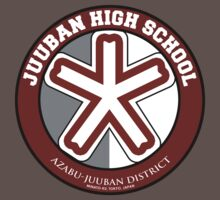 Juuban High School Logo Shirts by SimplySM